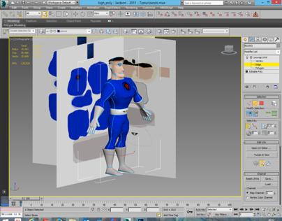 Modelagem 3D - Human High Poly