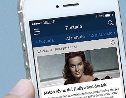 La Vanguardia redesign exercise