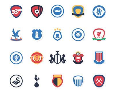 2017/2018 premier league emblem redesign