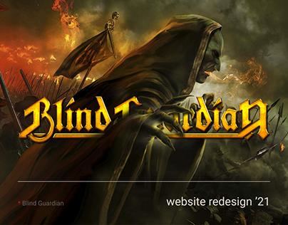 Blind Guardian — website redesign