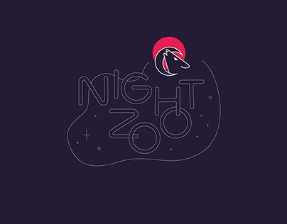 Night Zoo- Brand design