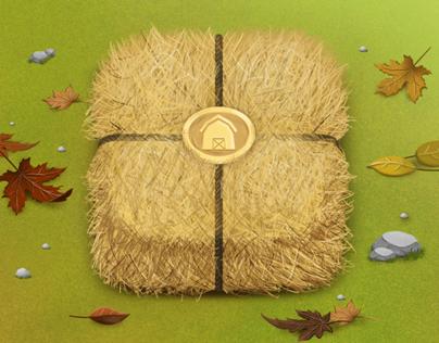 Farm Game Design - Komşu Köy