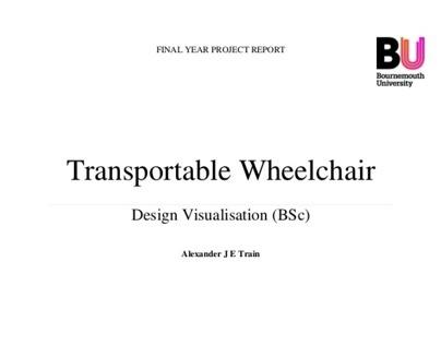 MUTO: Transportable Wheelchair Report
