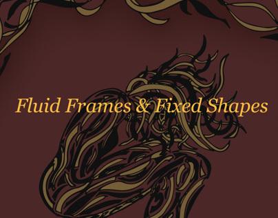 Fluid Frames & Fixed Shapes - Surrealism Poster