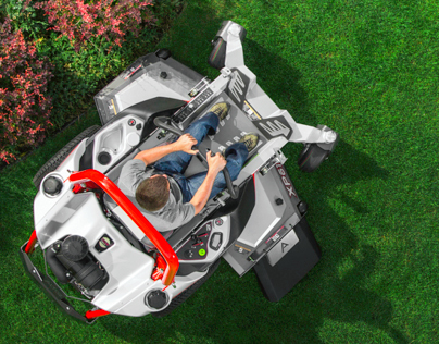 Zero-Turn Lawnmower / Designed by KISKA