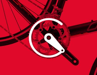 Crank Cycles Branding