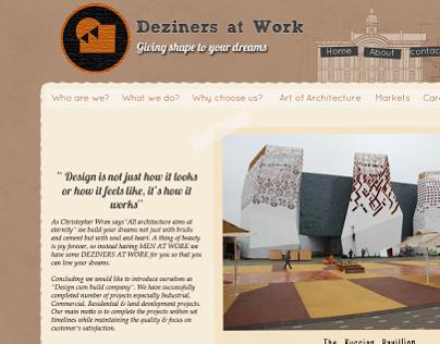 Designers at work (old design)