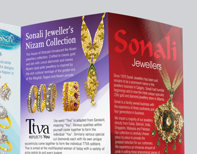 Brochure Design (Sonali Jewelers)