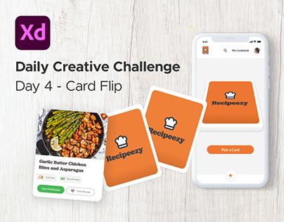 Recipeezy - XD Creative Challenge