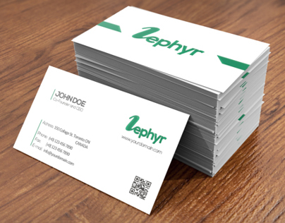 Zehpyr Business Card