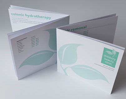 Design and Printing for the Didsbury Beauty Clinic