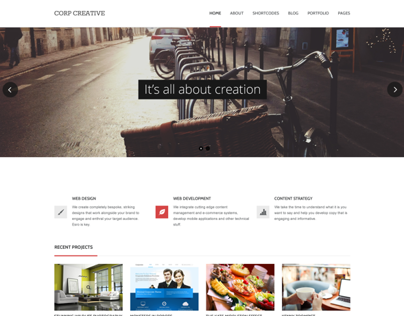Corporate Creative Multipurpose HTML Template