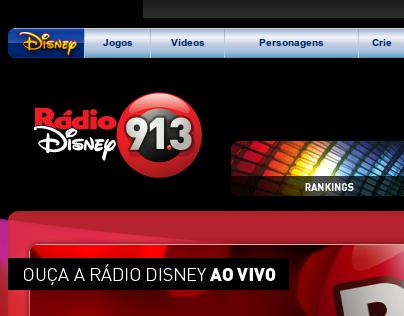 Radio Disney (Brasil) - Sitio Principal