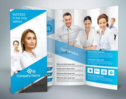 Business Tri-fold Brochure v3