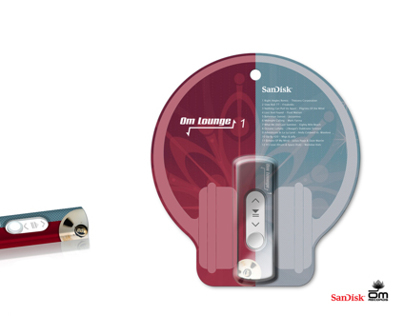 Package and Graphic Design for SanDisk