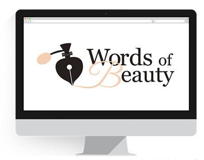 Words of Beauty - logo