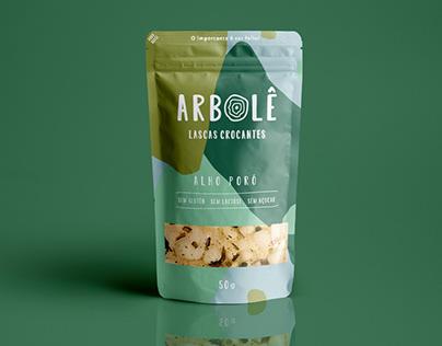 Branding + Packaging Arbolê Alimentos