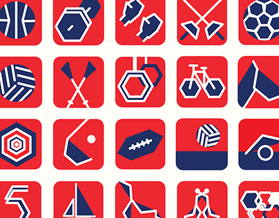 The Sports Pictograms of the Olympic Games in Norway