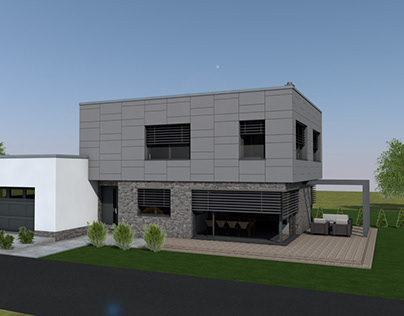 Modern private house project