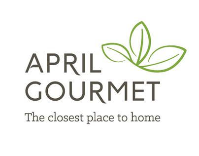 April Gourmet Rebranding