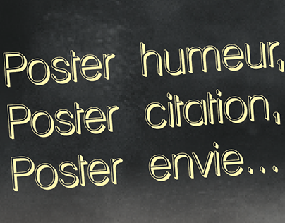 Poster d'humeur