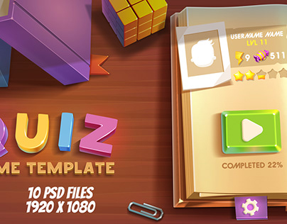 Quiz Game Template