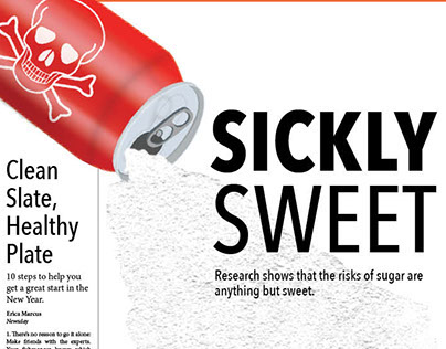 """""""Sickly Sweet"""" Feature Pages Assignment"""