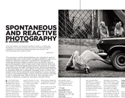 Spontaneous and Reactive Photography