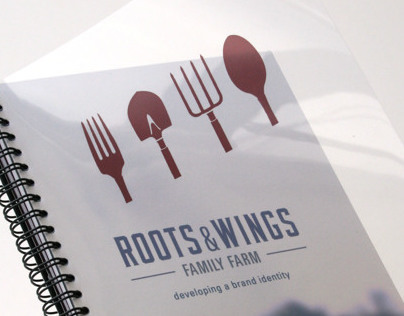 Roots & Wings: An Identity for a Working Organic Farm
