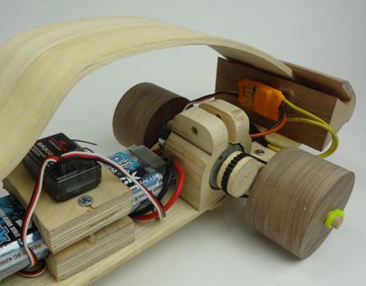 Wooden RC Car