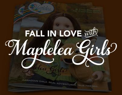 Maplelea Catalogue Covers