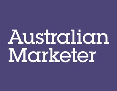 Australian Marketer Visual Identity
