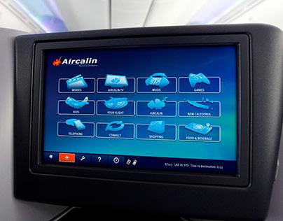 Aircalin Airlines GUI screens
