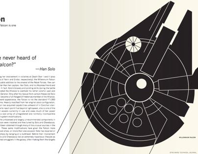 Star Wars Technical Journal // Book Re-design