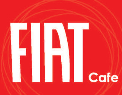 FIAT Cafe menu design