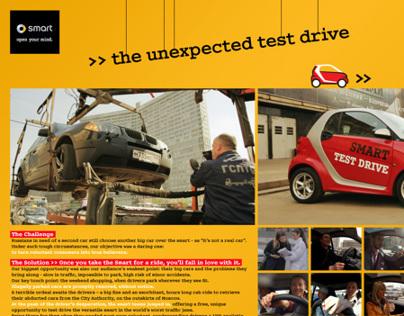 Mercedes Smart — Unexpected test drive