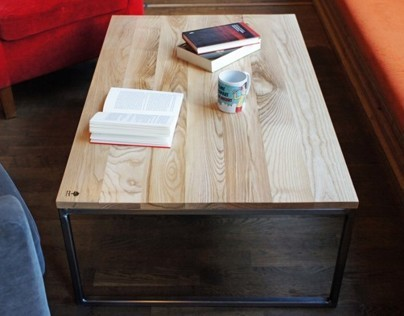 """Coffee table """"INDUSTRIAL"""""""