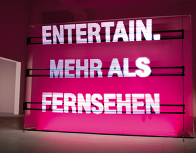Website: Telekom - Entertain Showroom