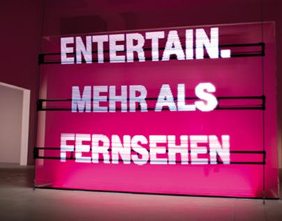 Website: Telekom - Entertain Showroom
