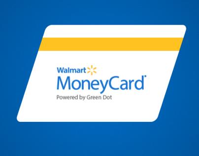 Walmart MoneyCard | app design