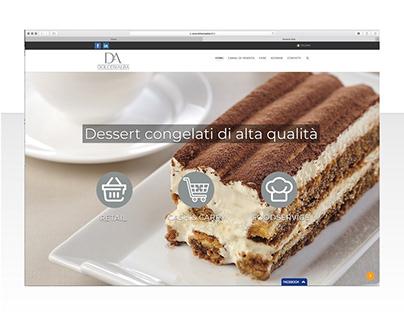 Sito web food