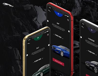 Jaguar Avilon UX/UI Redesign Concept
