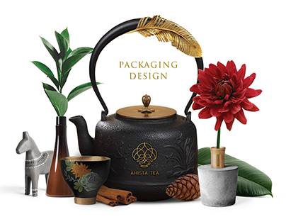 Ahista Tea Packaging Design