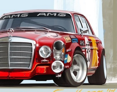 Studies: Mercedes and Jaguar
