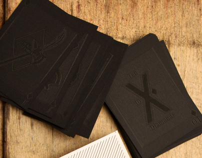 Monotype Typographic Playing Cards