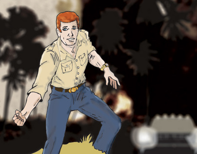 Fashion Illustration - Stuntman Carl