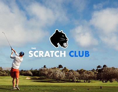 The Scratch Club - Golf Brand Identity & Webdesign