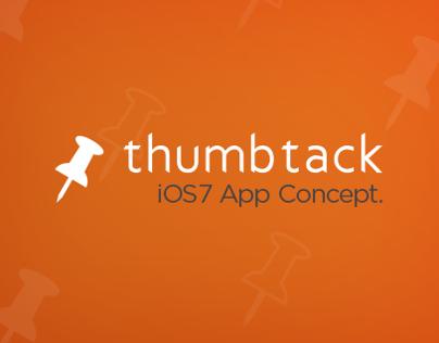 Thumbtack - iOS7 Concept