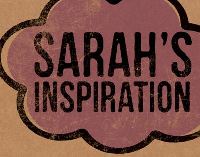 Sarah's Inspiration – Identité et emballage