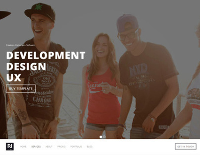 NORA - BS Business | Creative Template